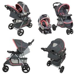 Baby Trend Nexton Travel System Three-Wheel Stroller And Inf