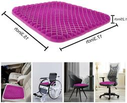 Orthopedic Gel Seat Cushion Pad for Car seats, Office chair