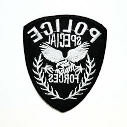 Police Special Forces badge Emblem Department S.W.A.T. Elbow