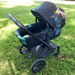 Cybex Priam Stroller-Birds of Paradise with Luxury Carry Cot