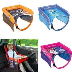 Safety Waterproof DISNEY Baby Car Seat Table Kids Play Trave