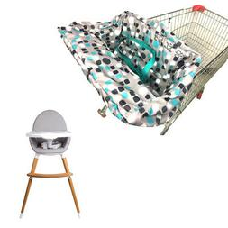 Seat Cover For Shopping Cart For Baby Polyester Mat Non-Slip