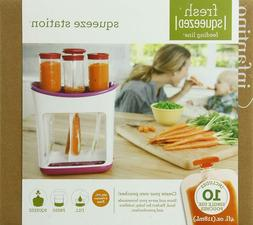 Infantino Squeeze Fresh Pouches Station Feeding Baby Food Sq