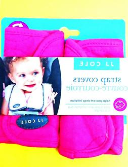 JJ Cole - Reversible Strap Covers, Seat Belt Cushion to Supp