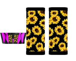 Sunflowers Baby Seat Belt Strap Covers Set of 2