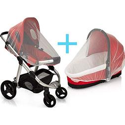 SUPER LIGHT WEIGHT Baby Mosquito Net for Strollers, Carriers