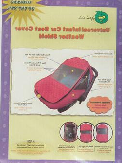 universal infant car seat cover weather shield