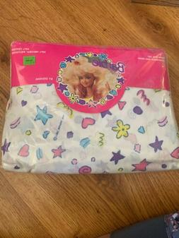 Vintage 1991 Barbie For Girls TWIN Sheet Set New In Package